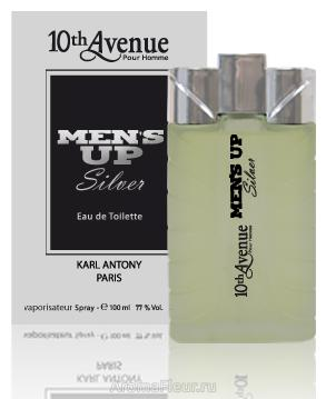 10Th Avenue Karl Antony 10Th Avenue Men's Up Silver