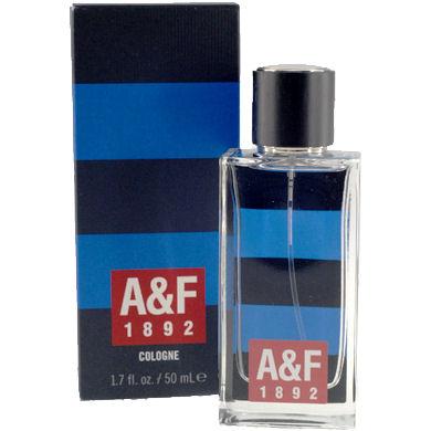 Abercrombie & Fitch A&F 1892 Blue Stripes