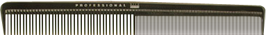 Acca Kappa Comb For Cutting And Styling (Carbon) 21,5 Cm