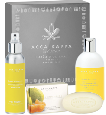 Acca Kappa Green Mandarin Gift Set 1