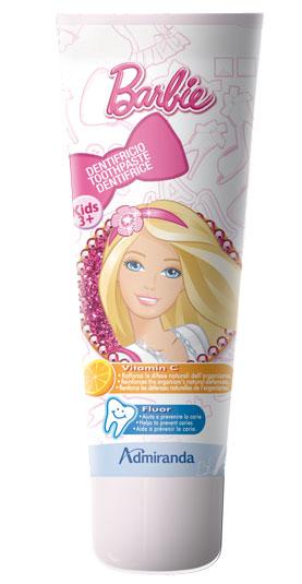 Admiranda Barbie Toothpaste