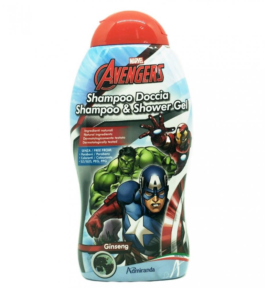 Admiranda The Avengers Shampoo Gel