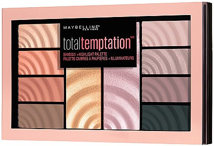Maybelline Total Temptation Eyeshadow + Highlight Palette