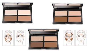 Pupa Contouring & Strobing Ready 4 Selfie Powder Palette